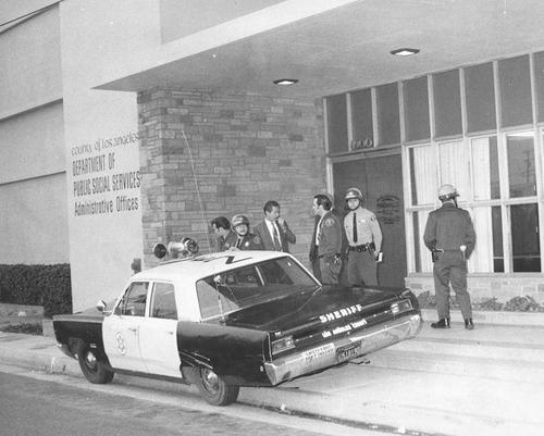 CA- LA County Sheriff 1968 Plymouth
