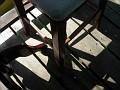 patter of light on dock at JJ's Restaurant
