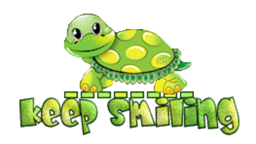 Keep Smiling - CuteTurtle