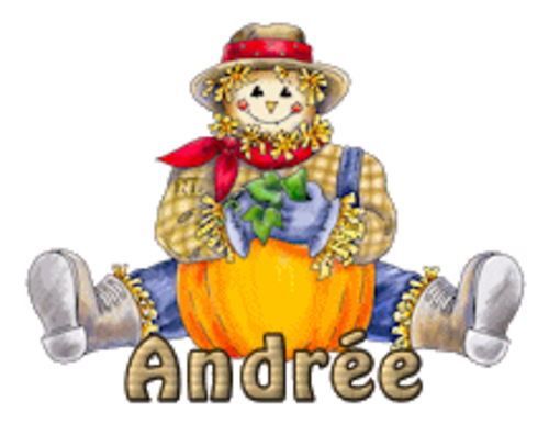 Andree (MC) - AutumnScarecrowSitting