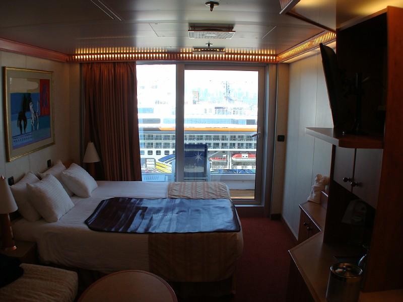 Spa Deck Balcony Cabin 8F